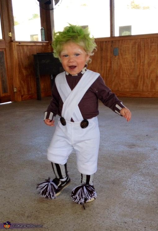 Oompa Loompa Doompa-Dee-Do Baby Costume