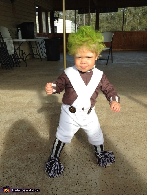 Oompa Loompa Doompa-Dee-Do Homemade Costume