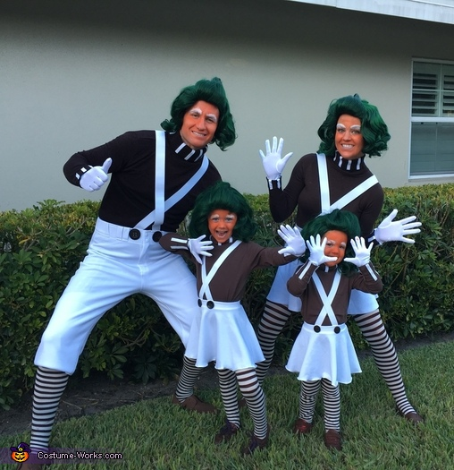 Oompa Loompa Family Costume
