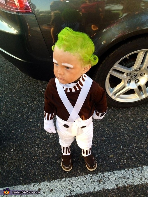Oompa Loompa, Oompa Loompa from Willy Wonka and the Chocolate Factory Costume