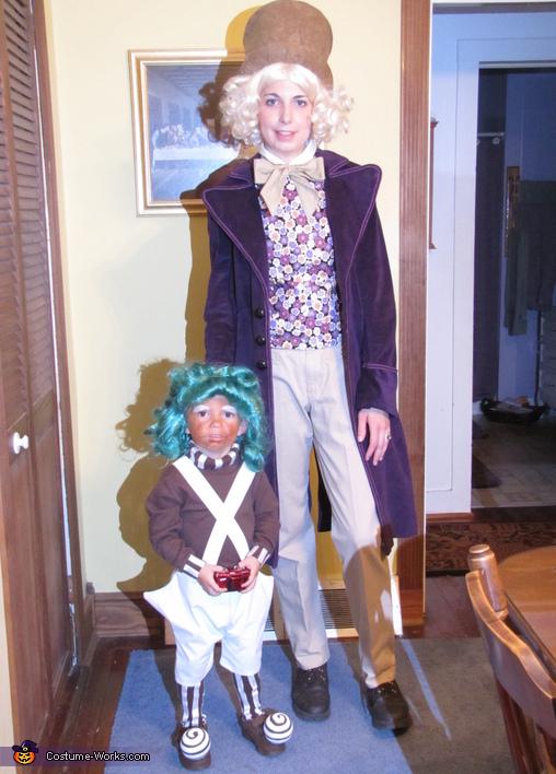 Oompa Loompa & Willy Wonka Costume