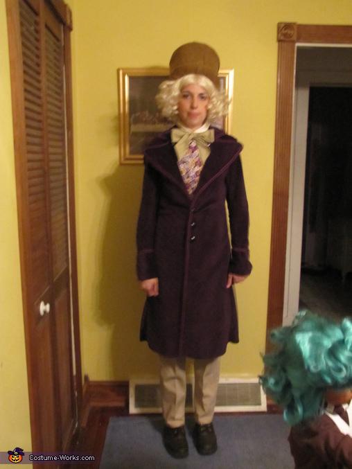 Willie Wonka, Oompa Loompa & Willy Wonka Costume