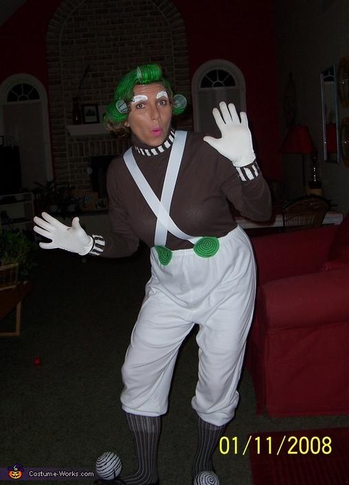 Oompa Loompa Suza, Target Employee & Bullseye Target Mascot Costume