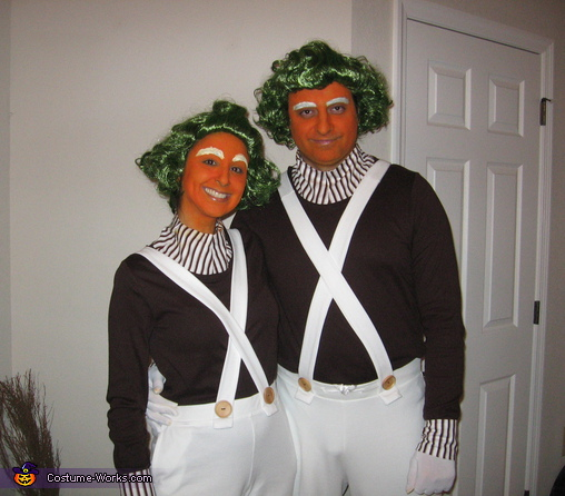 Ooompa Loompas - Homemade costumes for couples
