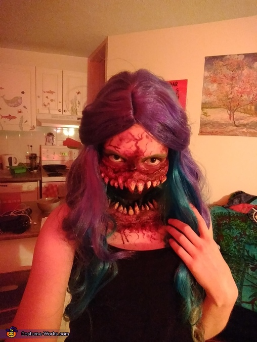 Open Wide Homemade Costume