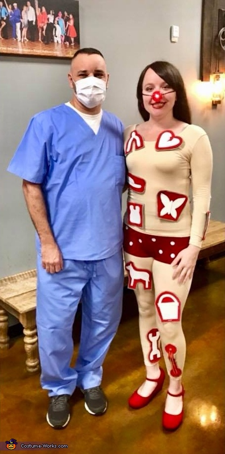 Operation Game (Doctor & Patient) Costume