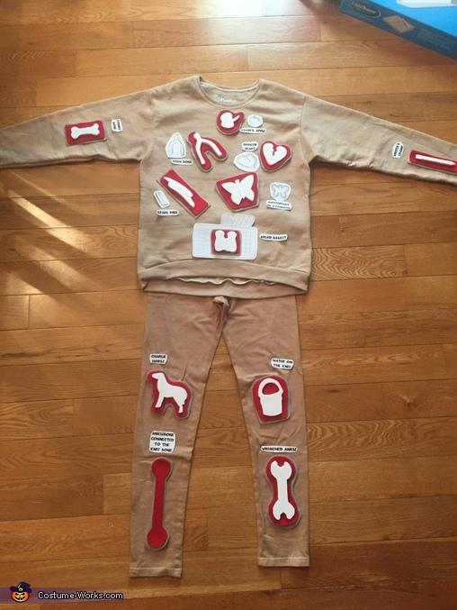 Homemade Operation Game Costume Photo 4 6