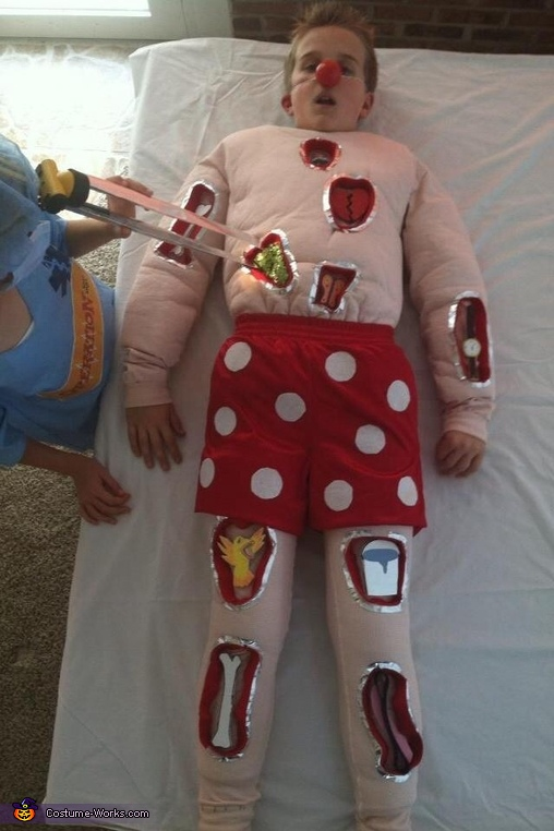 Operation Homemade Halloween Costume