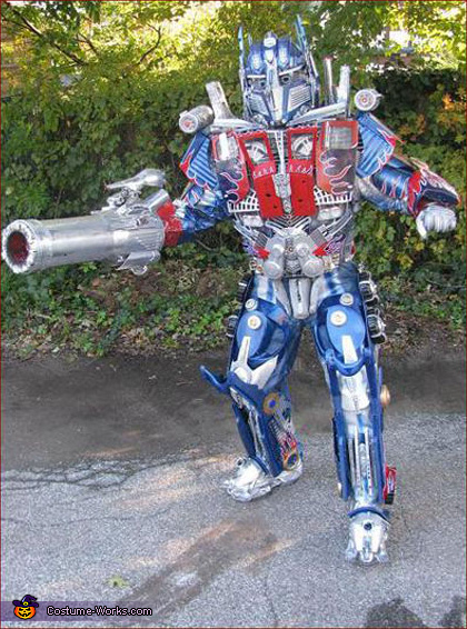 Optimus Prime Transformer - Homemade costumes for men