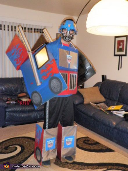Optimus Prime - Homemade costumes for men