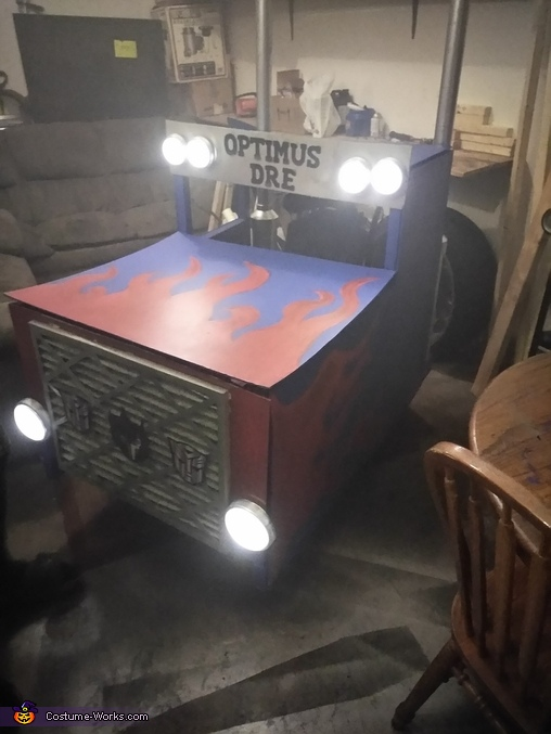 Optimus Dre Homemade Costume