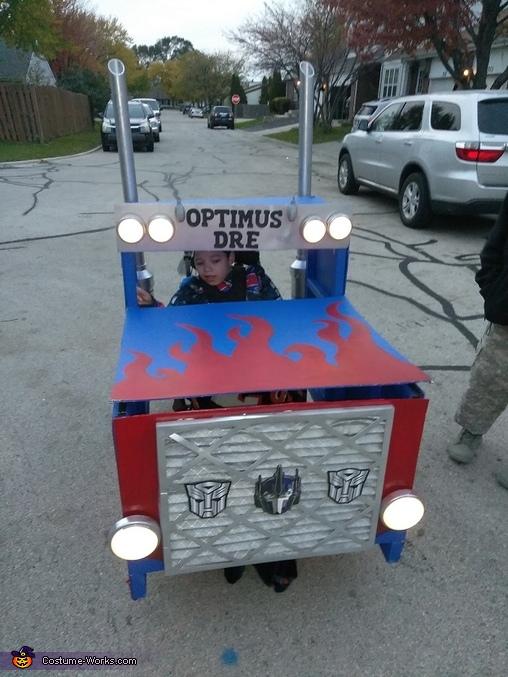 Optimus Dre Homemade Costume
