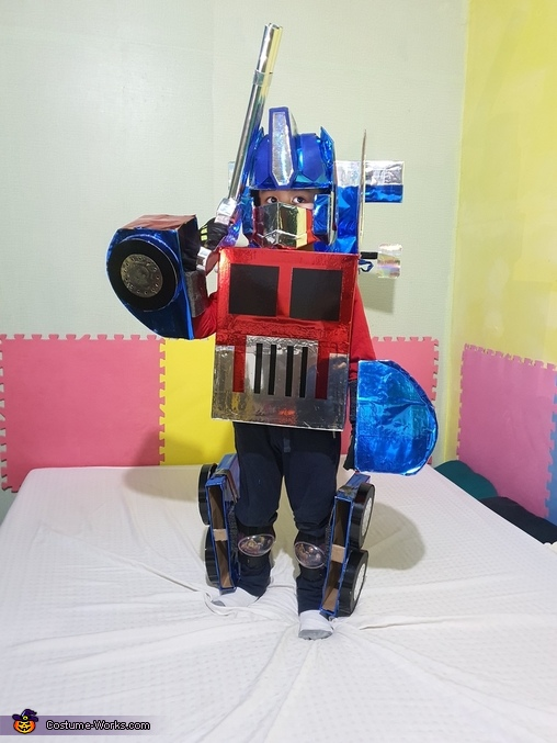 Thinking out loud, Optimus Prime Costume