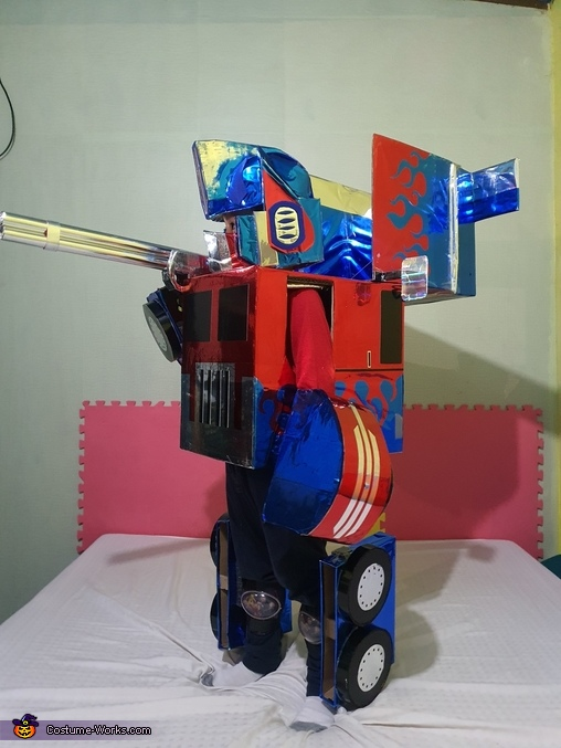 Another one with the gun, Optimus Prime Costume