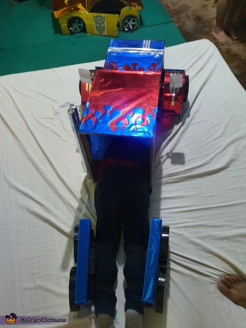 Rear, Optimus Prime Costume