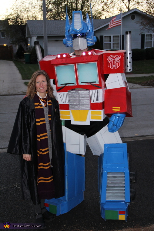With Hermione!, Optimus Prime Costume
