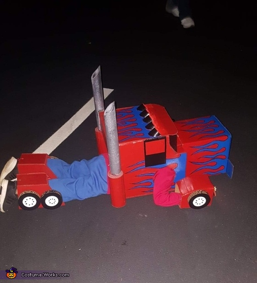 transformed, Optimus Prime Costume