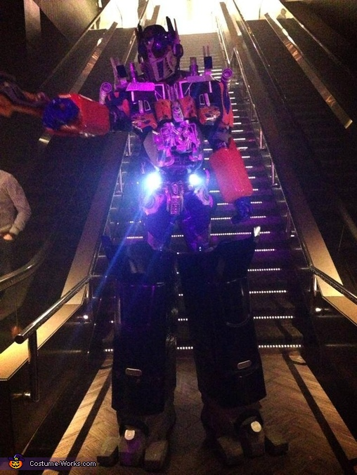 Dark of the Moon Optimus Prime Costume