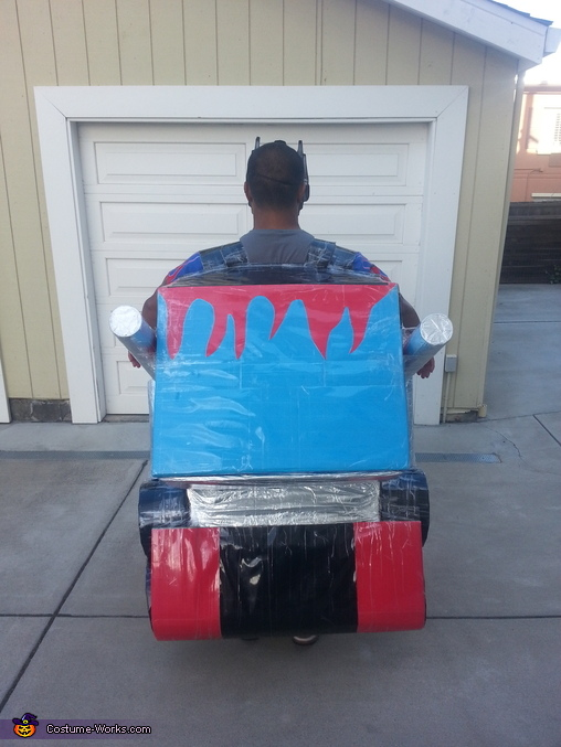 Back of Optimus Prime, Optimus Prime Costume