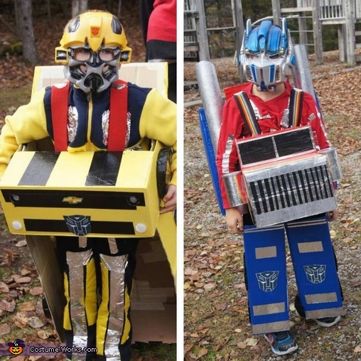 Optimus Prime and Bumblebee Costumes