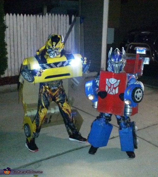 Optimus Prime and Bumblebee Costume