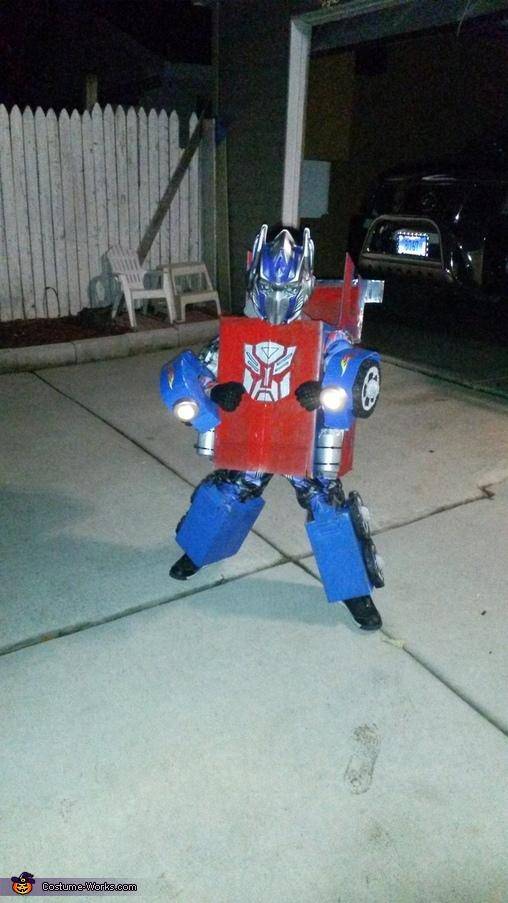 Optimus Prime and Bumblebee Homemade Costume