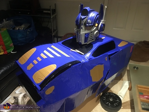 Prototype, Optimus Prime as Bumblebee Costume