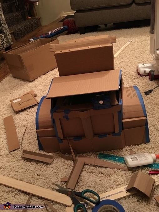 Progress, Optimus Prime Transforming Costume