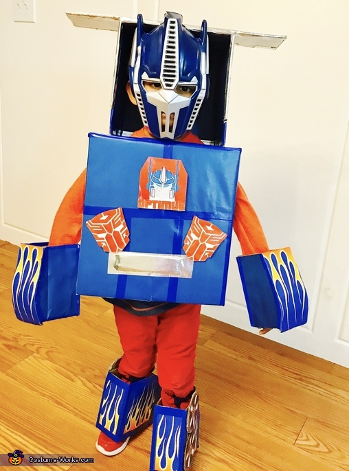 Optimus Prime Transforming Truck Costume