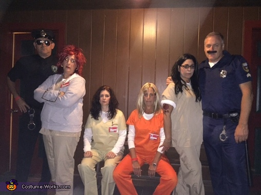 Orange Is the New Black Group Costume