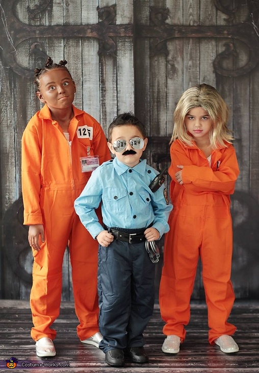 Orange Is the New Black Kids Costume