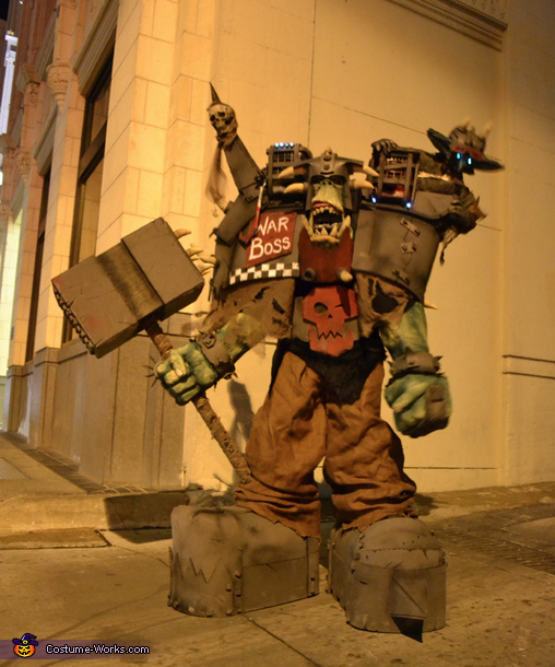 WAAAGH!!!, Warhammer Orc Warboss Costume
