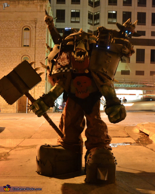 Lemme at 'em!, Warhammer Orc Warboss Costume