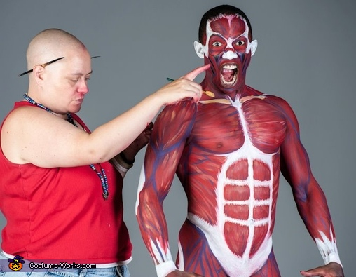 Body Painting Costume
