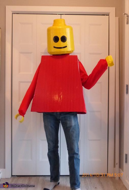 Original LEGO Man Costume
