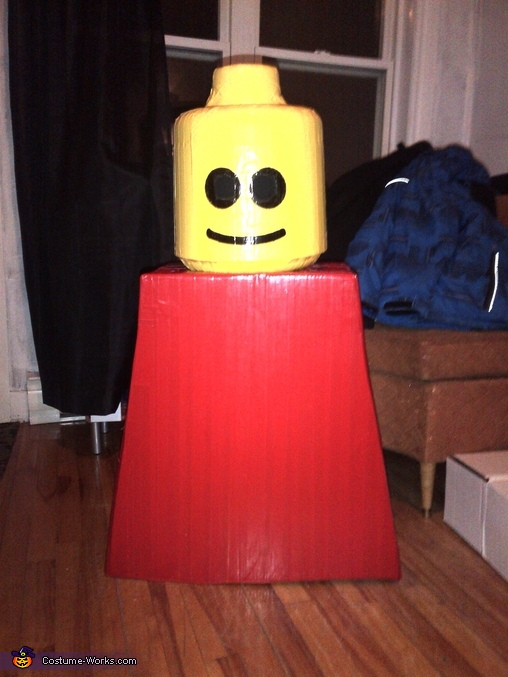 body and the head, Original LEGO Man Costume