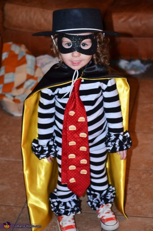 Original McDonald's Hamburglar Costume
