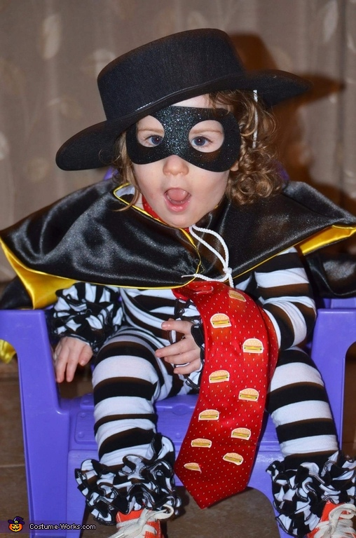 Original McDonald's Hamburglar Homemade Costume