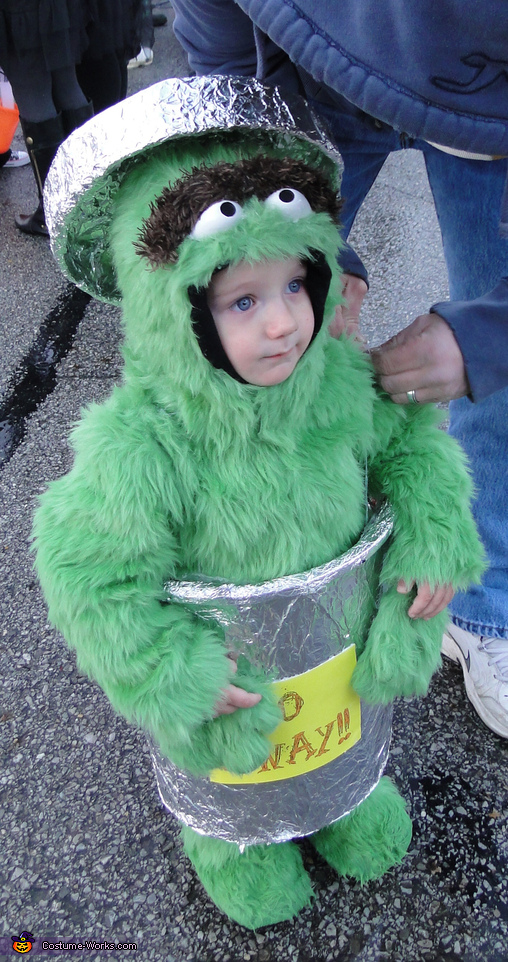 Oscar the Grouch 2013, Oscar The Grouch Costume