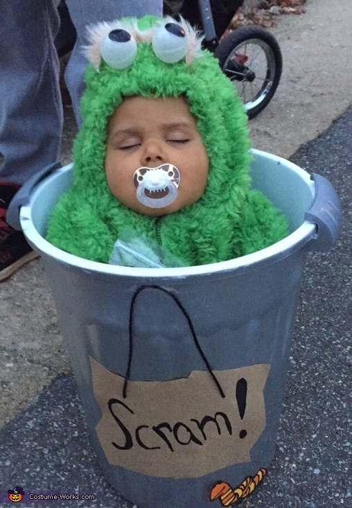 Oscar the Grouch Homemade Costume