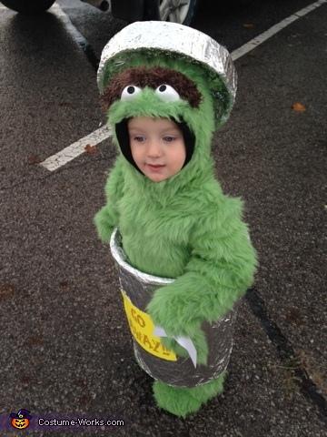 Oscar The Grouch, Oscar The Grouch Costume