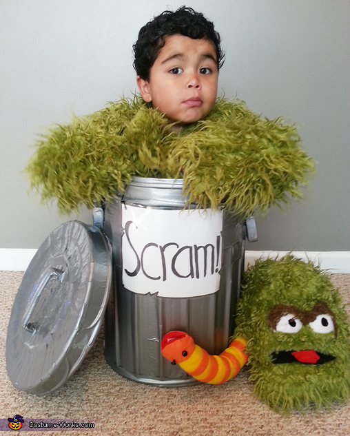 The real life Grouch!, Oscar the Grouch Costume