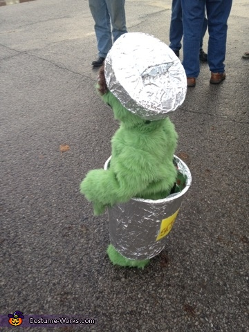 Oscar the Grouch, Oscar The Grouch Costume