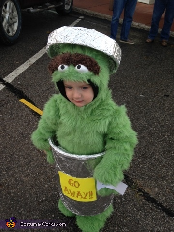 Oscar, Oscar The Grouch Costume