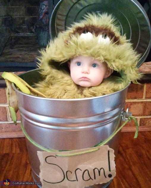 Oscar the Grouch Baby Costume