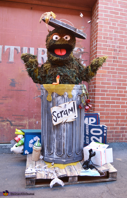 Oscar the Grouch in 2020 Costume