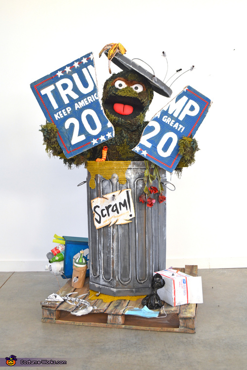 Oscar the Grouch in 2020 Homemade Costume