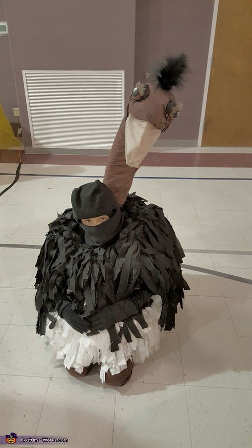 Ostrich Homemade Costume