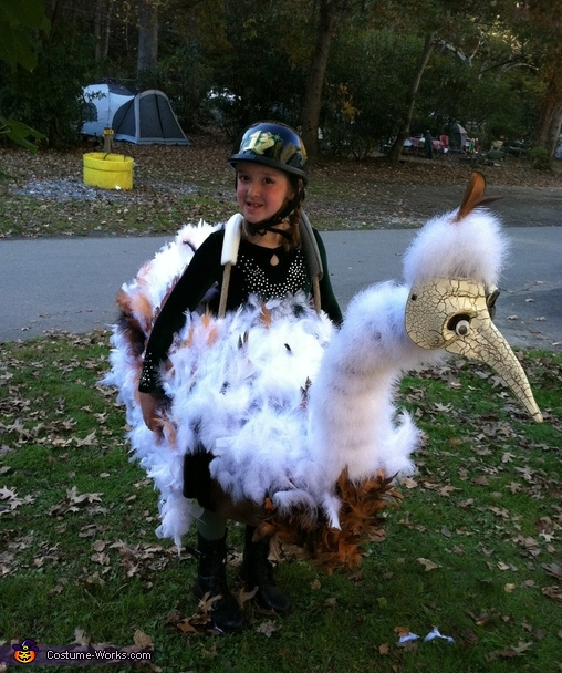 Ostrich Racer Costume