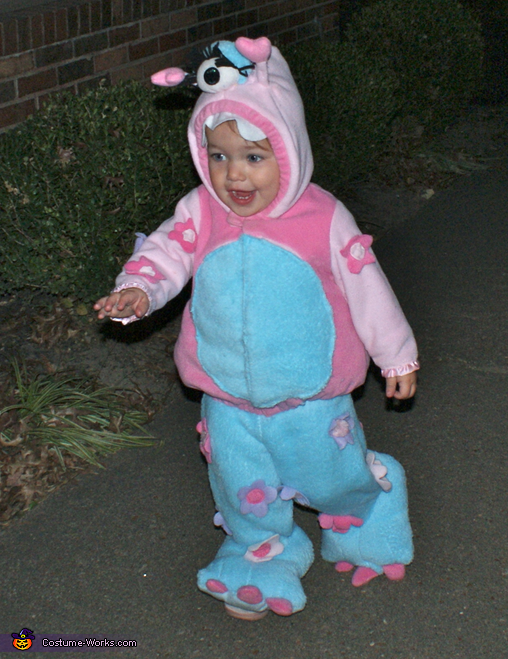 Cuddly One Eyed Girly Monster Costume